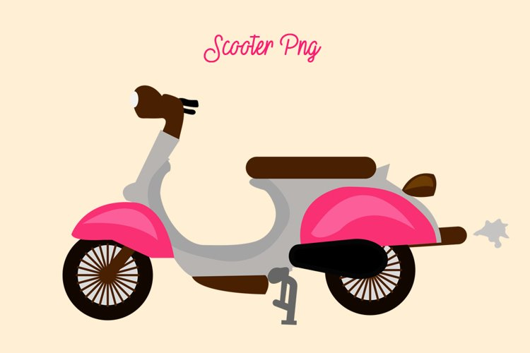 Scooter Png Elements