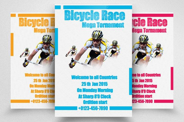 Bicycle Racing Flyer example image 1