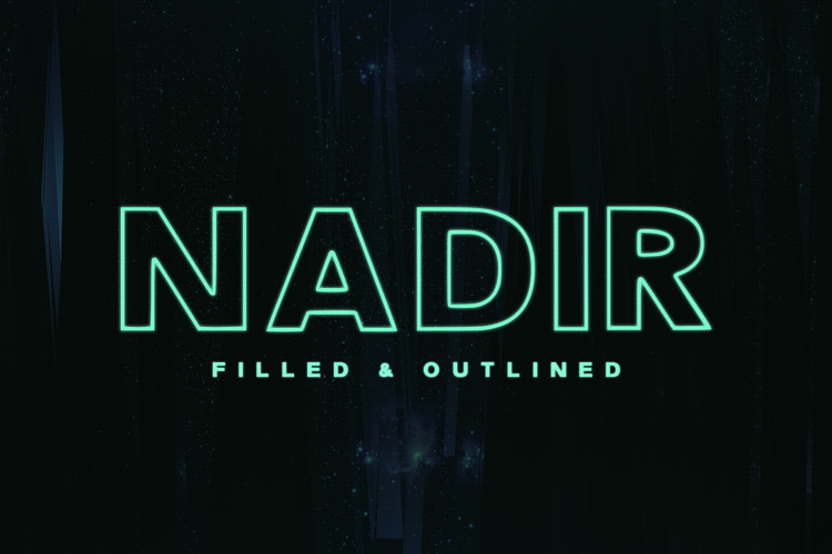 Nadir Typeface example image 1
