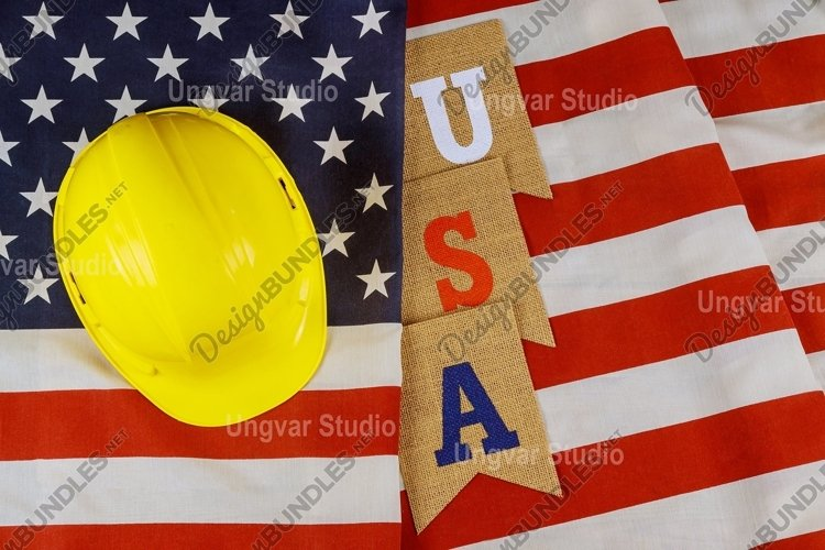 Happy federal holiday Labor day construction example image 1