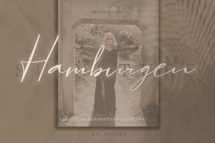 Hamburgen Signature example image 1