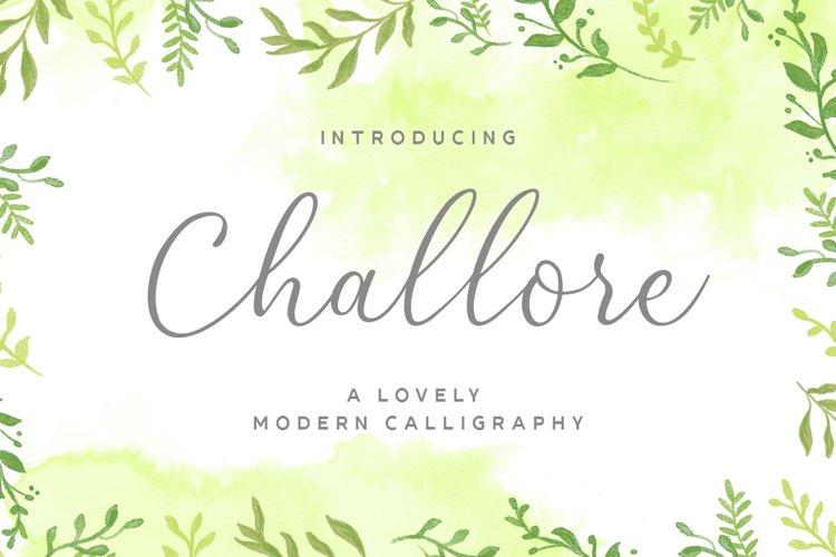 Challore Script example image 1