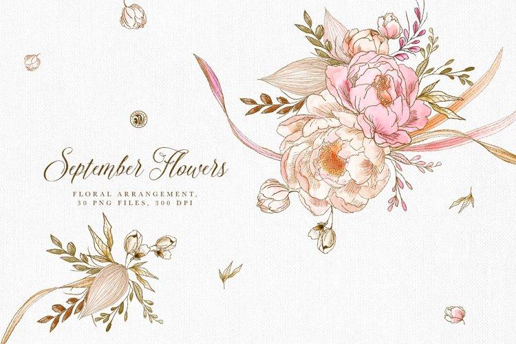 September Flowers example image 1