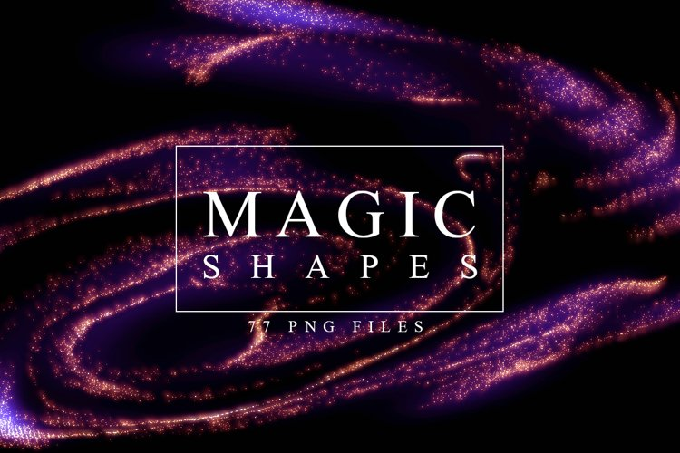 Abstract Magic Shapes example image 1
