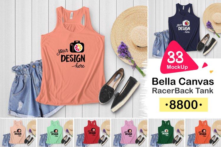8800 Bella Canvas RacerBack Tank 003