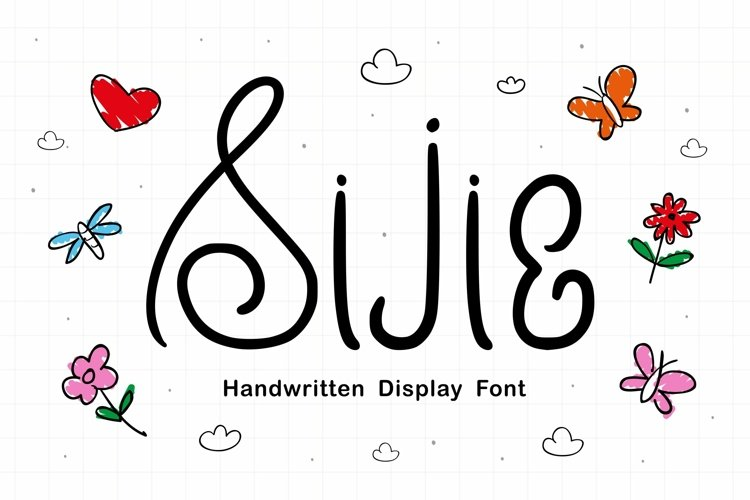 Sijie Font example image 1