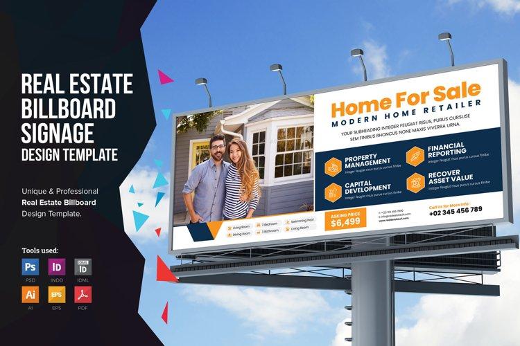 Real Estate Billboard Signage v2