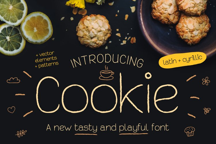 Cookie Font example image 1