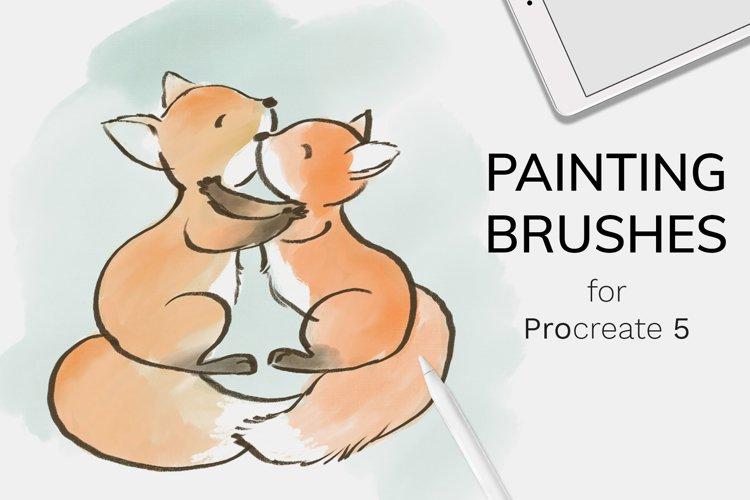 Painting Procreate Brushes example image 1