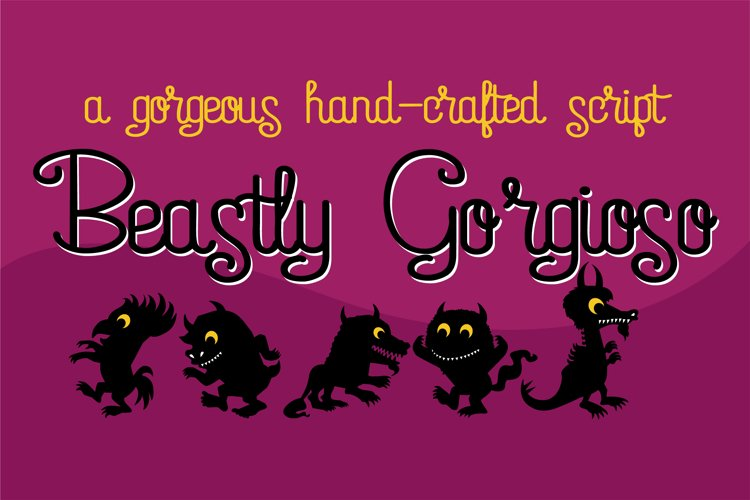 ZP Beastly Gorgioso - Free Font Of The Week Font