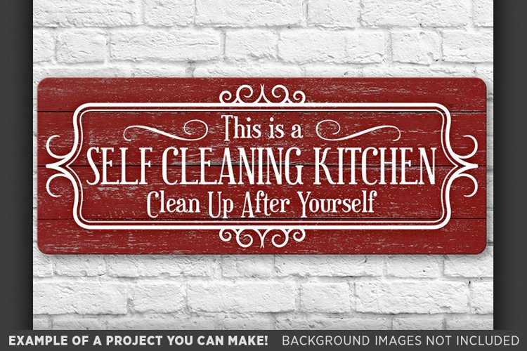 Country Kitchen Sign SVG Farmhouse Kitchen Svg Farmhouse 674 example image 1