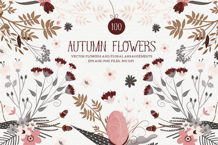 Autumn Flowers example image 1