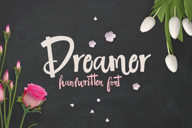 The Dreamer Font example
