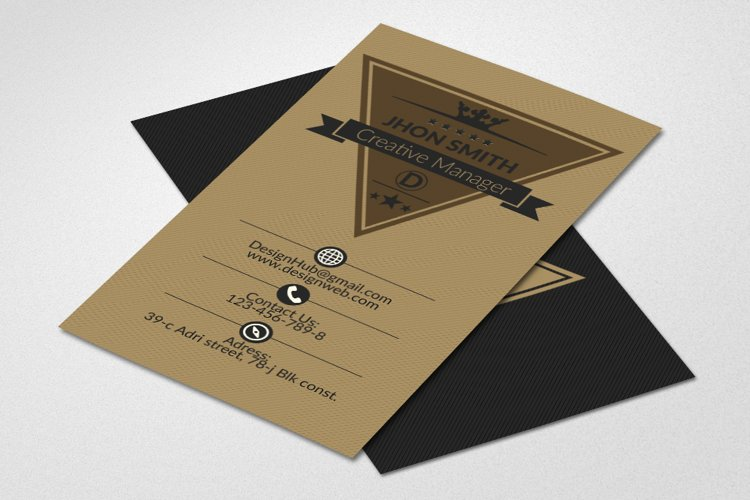 Retro Business Cards example image 1