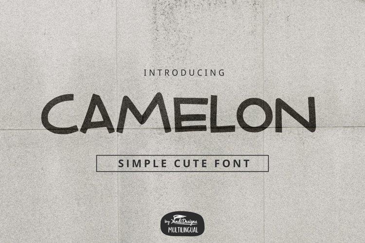 Camelon Font