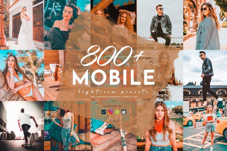 800 Plus Lightroom Mobile Presets Pack