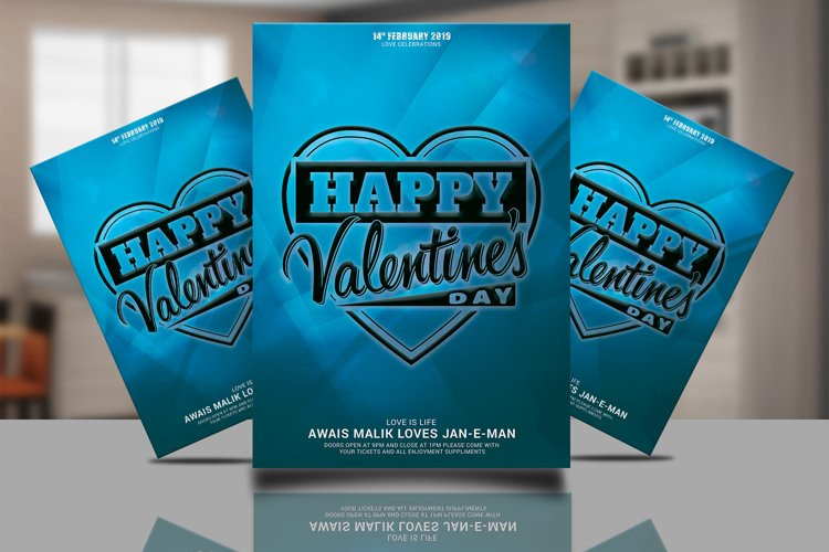 Valentines Flyer Psd example image 1