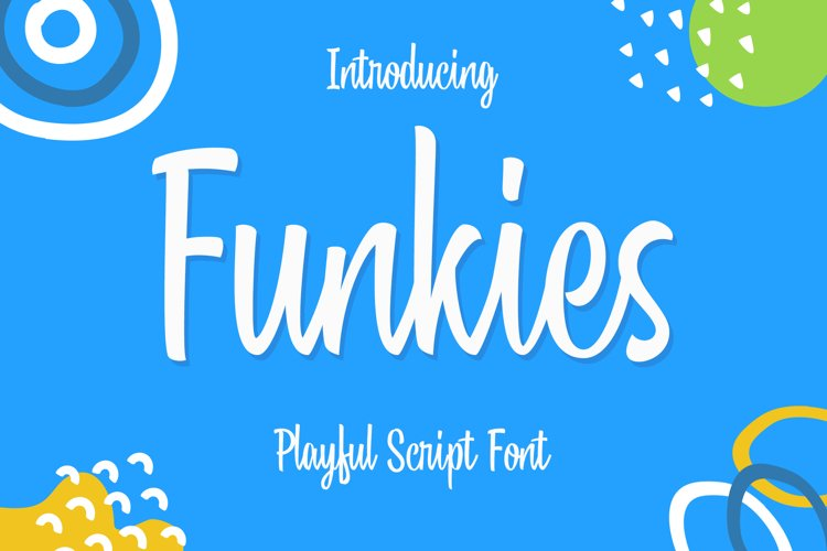 Funkies - A Playful Script Font example image 1