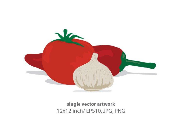vegetable- single vector artwork example image 1
