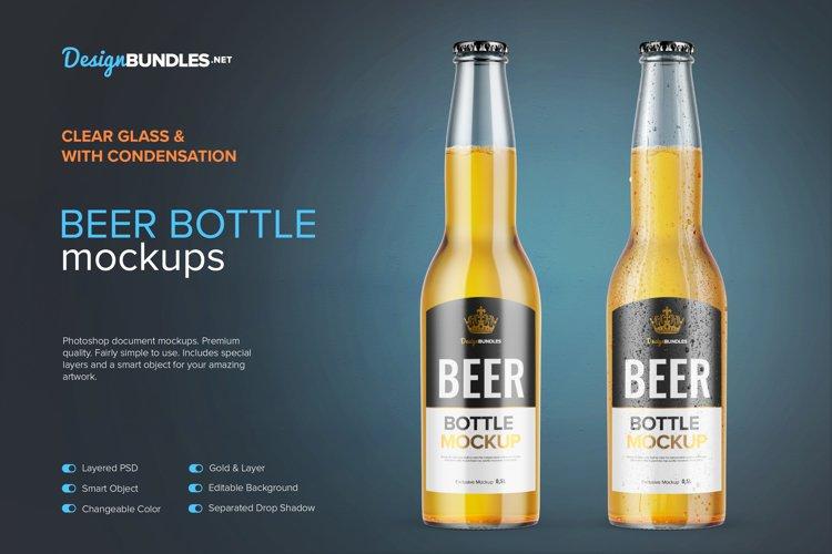 Beer Bottle Mockups example image 1