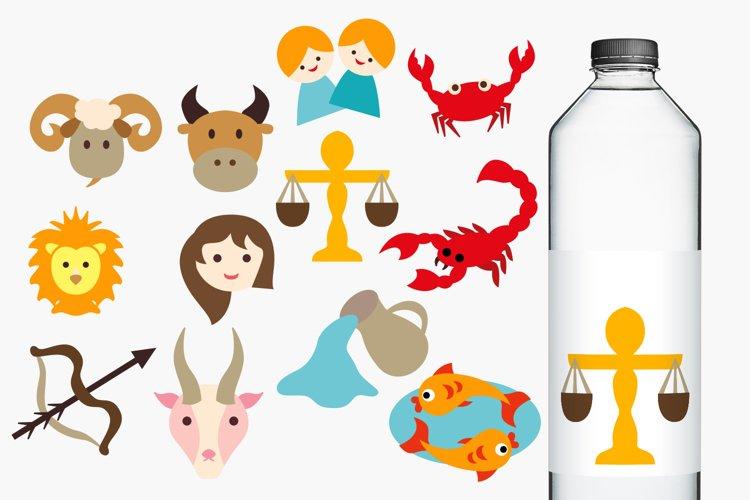 Horoscope Zodiac Clip Art Illustrations