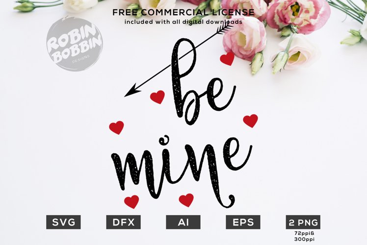 Be Mine Design for T-Shirt, Hoodies, Mugs and more example image 1