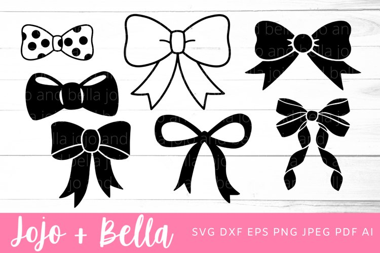 Bow Svg Bundle   Bow SVG