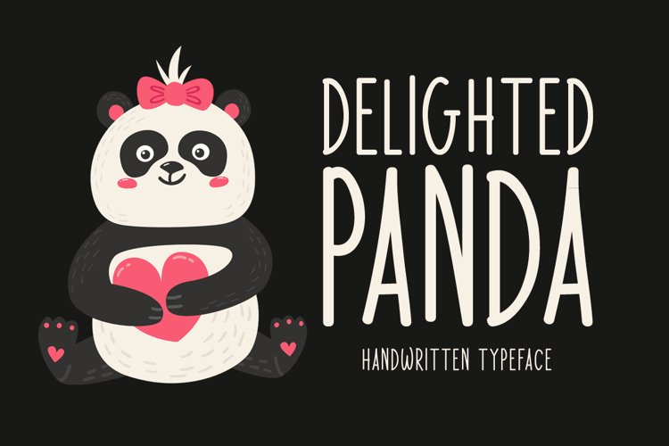 Delighted Panda example image 1
