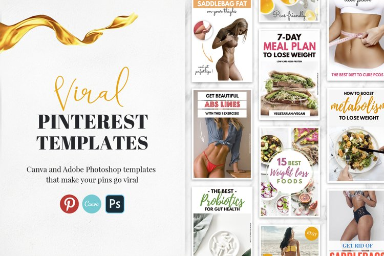 Viral Pinterest Templates Superpack example image 1