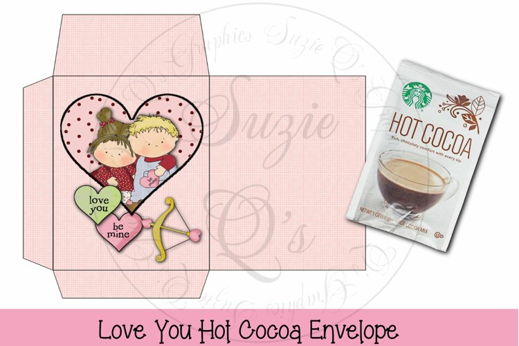 Love Soup Cocoa Envelope example image 1