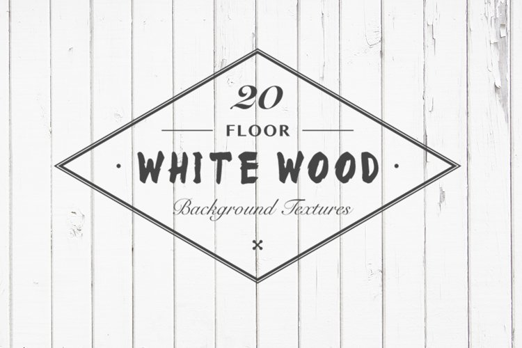 White Wood Floor Background Textures example image 1