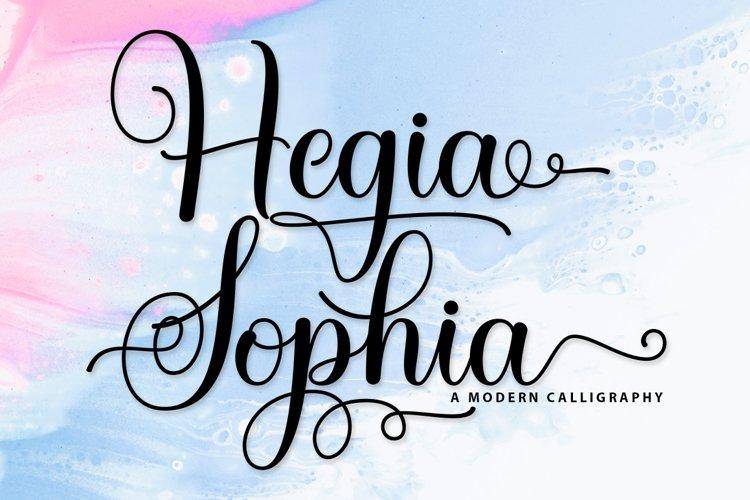 Hegia Sophia