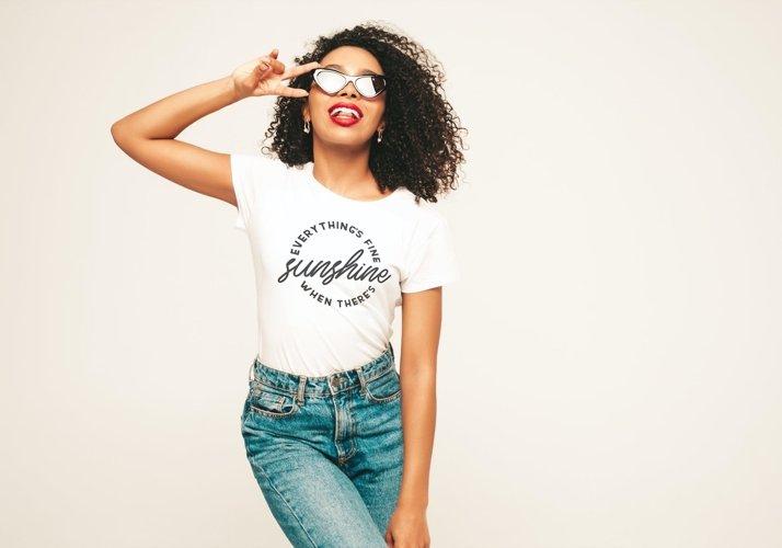Sunshine, Summer SVG, Tshirt or tote bag designs example 2