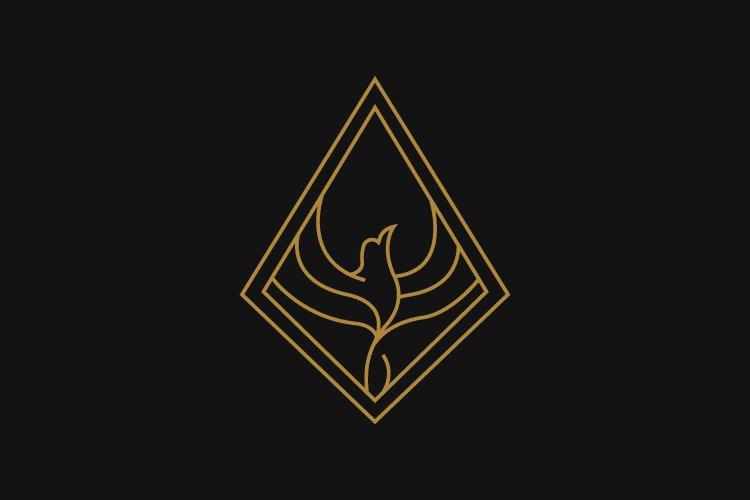 phoenix minimalist logo example image 1