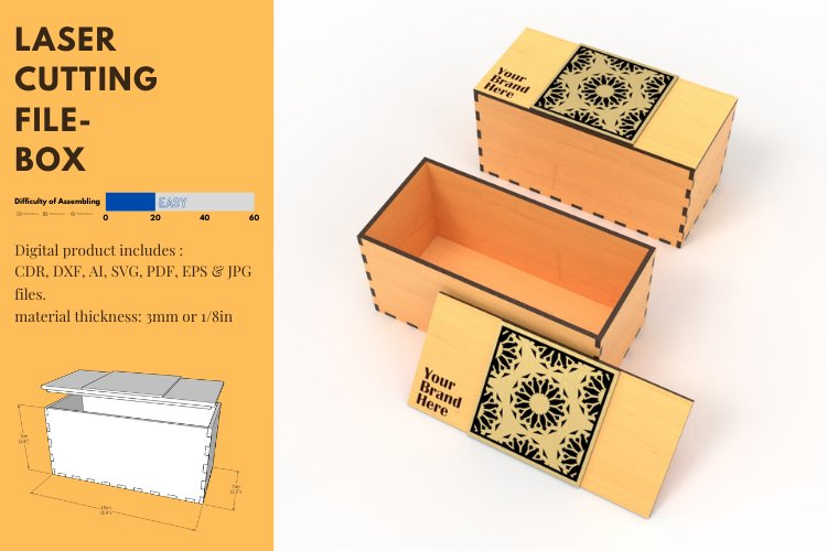 Box- laser cutting file