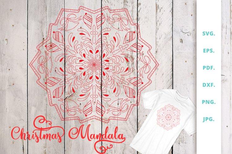 Christmas Mandala example image 1