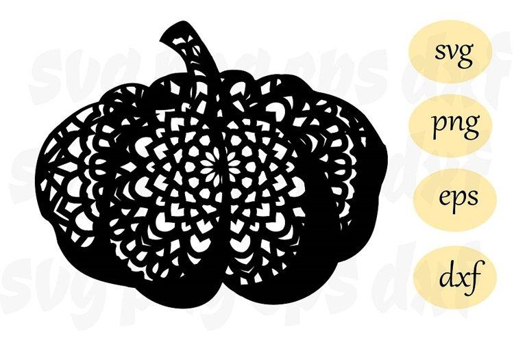 Pumpkin SVG Cutting File autumn svg example image 1
