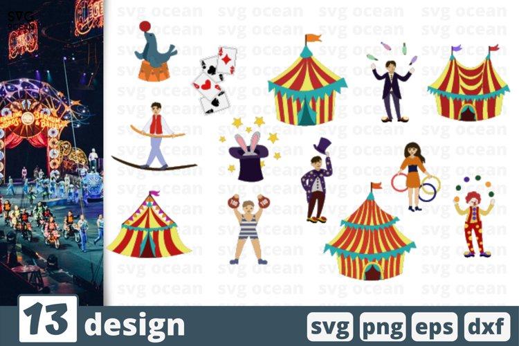 13 CIRCUS SVG BUNDLE | Circus tent svg | Circus clipart