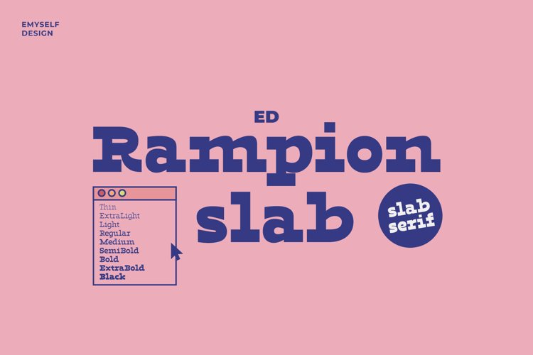 ED Rampion Slab example image 1