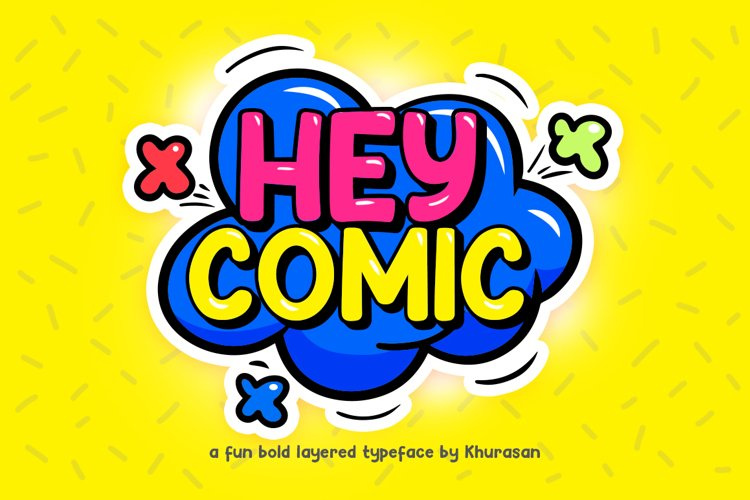 Hey Comic example image 1