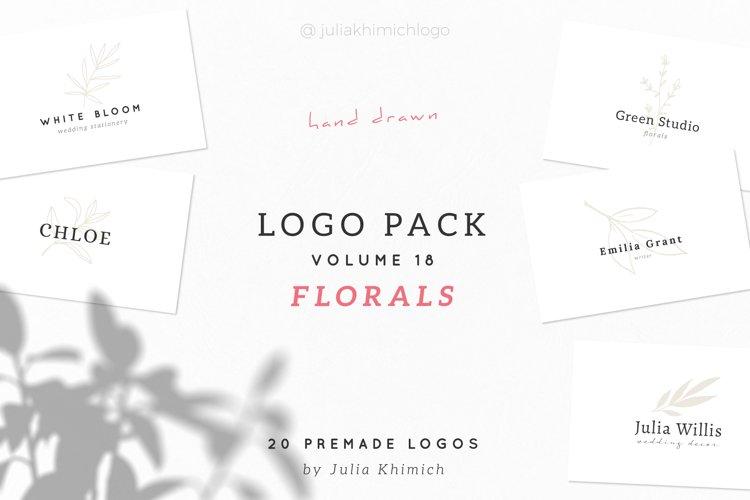 Logo Pack Volume 18. Florals
