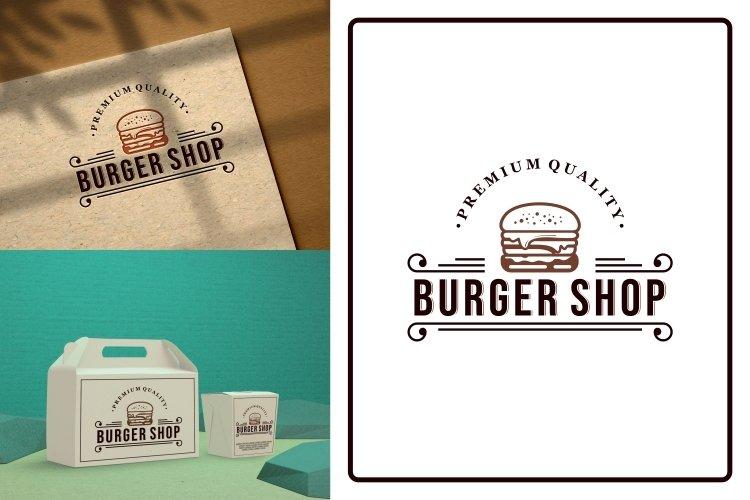 burger shop example image 1