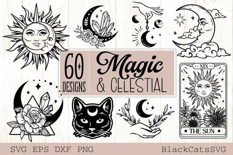 Magic and Celestial SVG bundle 60 designs