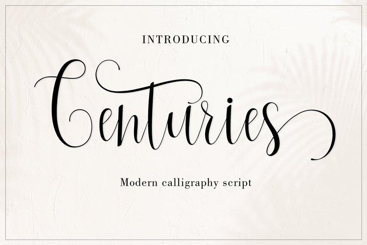 Centuries example image 1
