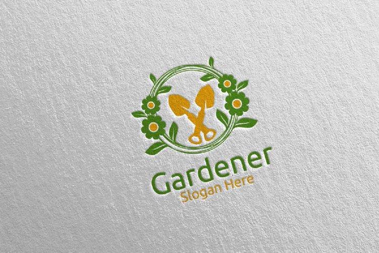 Botanical Gardener Logo Design 6 example image 1