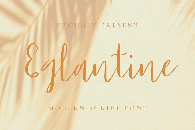Eglantine Font example image 1