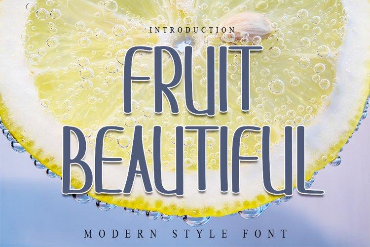 Fruit Beautiful example image 1