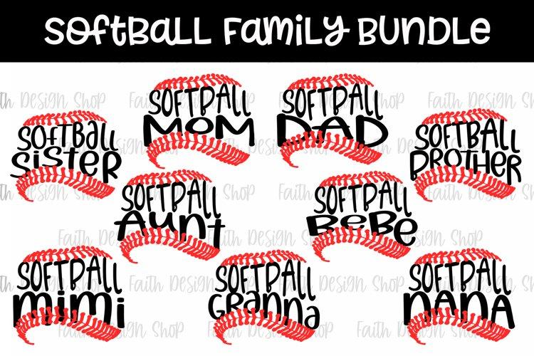 Softball Family Bundle example image 1