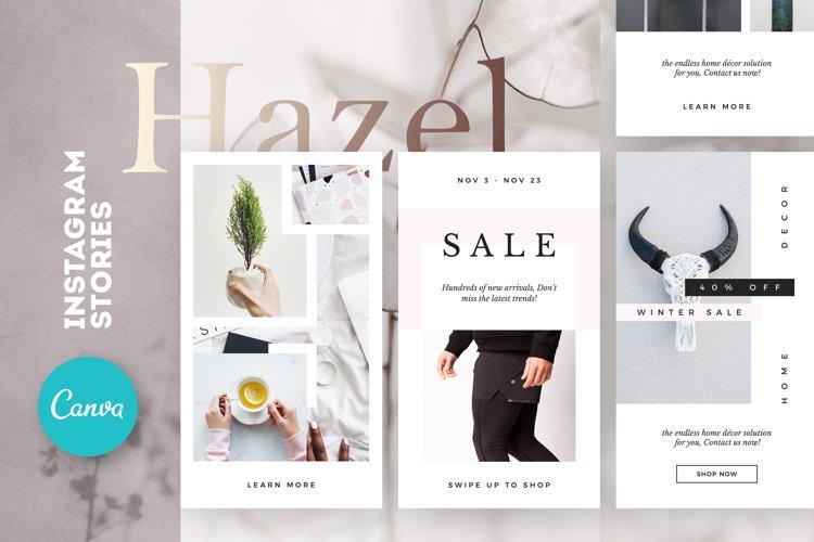 Hazel Instagram Stories Pack Canva