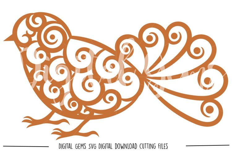 Bird SVG / DXF / EPS / PNG files